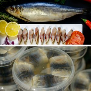 Соленая рыба, рыба по-домашнему