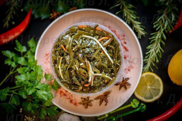 Салат из морской капусты Витаминный 0,5 кг. (2)