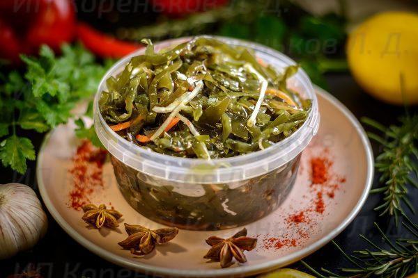 Салат из морской капусты Витаминный 0,5 кг.